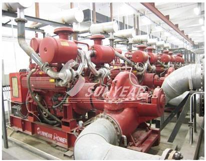 柴油机消防泵组的应用