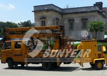 移动式应急救援排污车