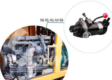 排水发电挂车免蓄电池启动