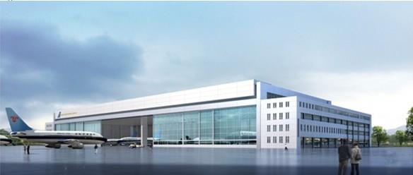"""沈阳飞机维修基地位于沈阳航高基地,是东北地区最大的国有航空维修企业,主要承担以沈阳为基地的南航北方分公司执管飞机的航线维护和定检维修工作。新机库项目建成后可同时容纳5架大型空客系列飞机进场维修,成为南航最大规模的空客系列飞机维修基地。新机库项目揭开了""""东北亚航空枢纽港""""及沈阳空港新城建设的序幕,不久的将来,一个崭新的现代化国际空港、世界级航空硅谷和最适合人类居住的生活绿岛将出现在沈阳南部。"""