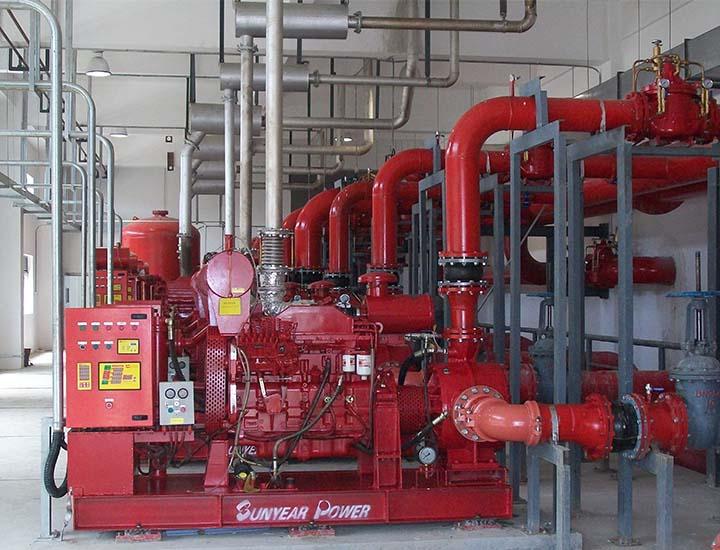 柴油机水泵与恒扬止回阀