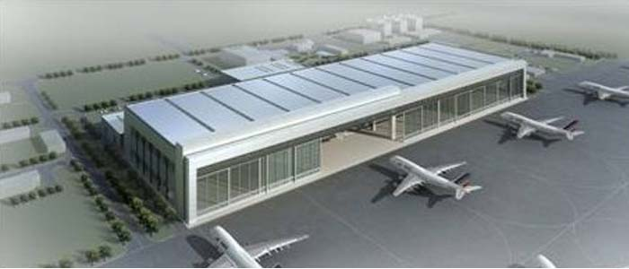 上海波音航空改装维修工程有限公司全景