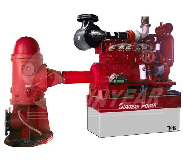 柴油机立式深井泵