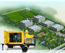 广东三防使用移动抽水泵车实例
