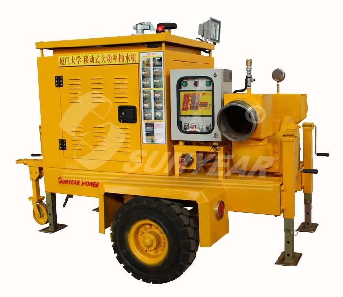 水泵间接运车转电路图