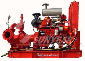 柴油消防凸轮转子泵