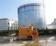防爆泵车应用在中石油庆阳石化公司