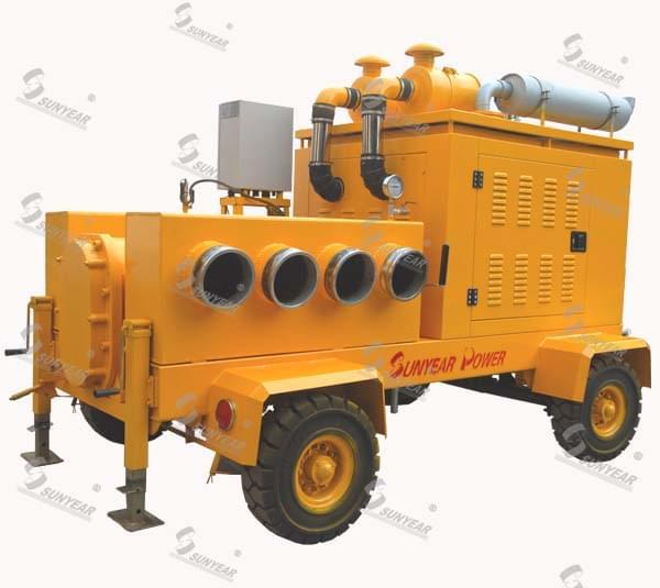 防汛抗旱移动泵车