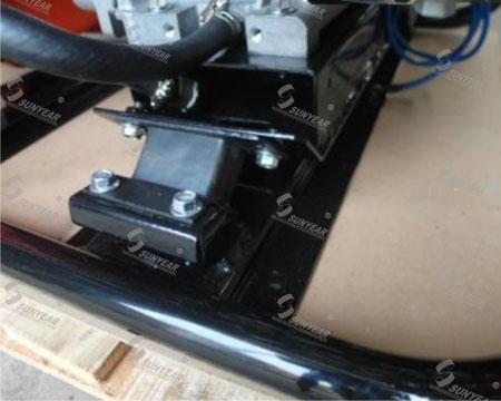 汽油机水泵减震功能