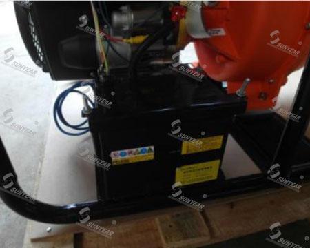 汽油机水泵蓄电池