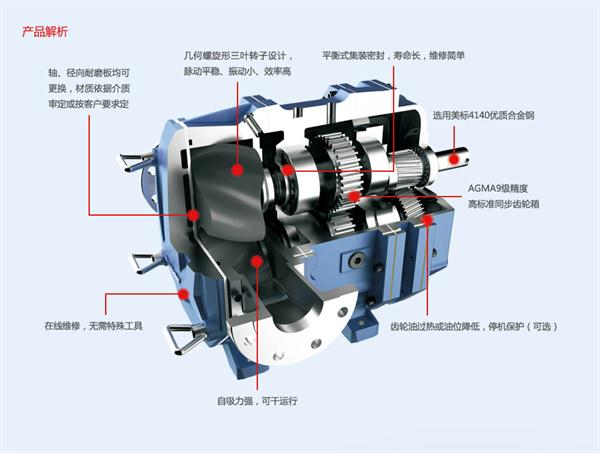 凸轮转子泵特点