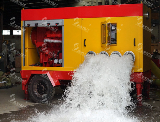移动式大流量自吸泵