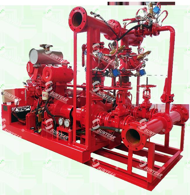 万博manbetx客户端苹果CCCF认证-消防双动力给水设备