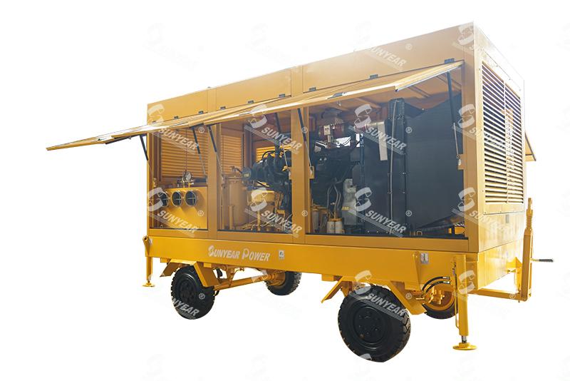 防爆应急排污泵车