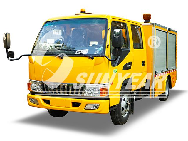 排水抢险车图片,应急移动泵车图片