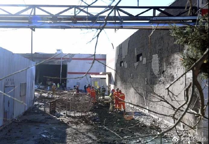 顺义工厂爆炸