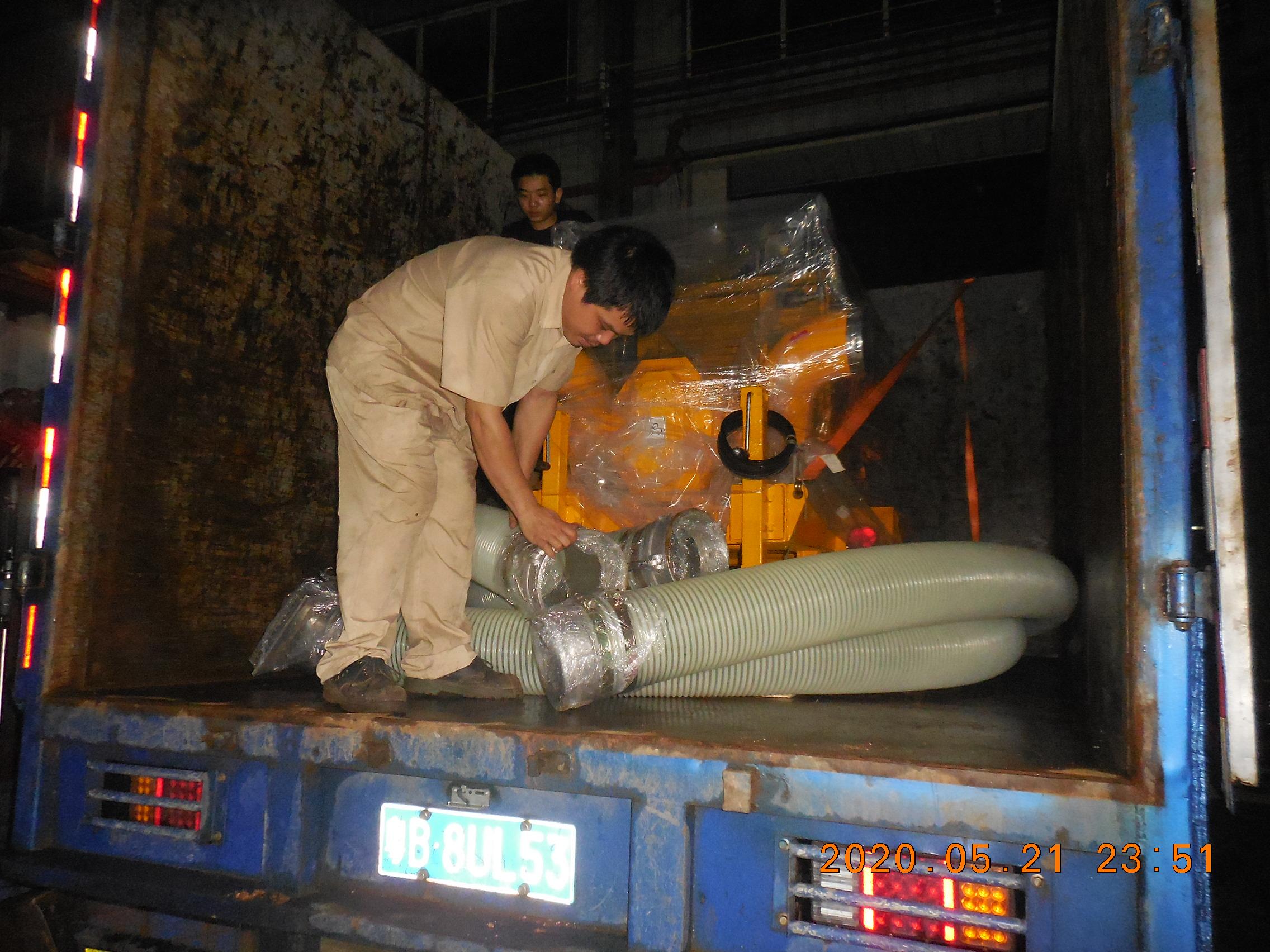 柴油机移动泵站