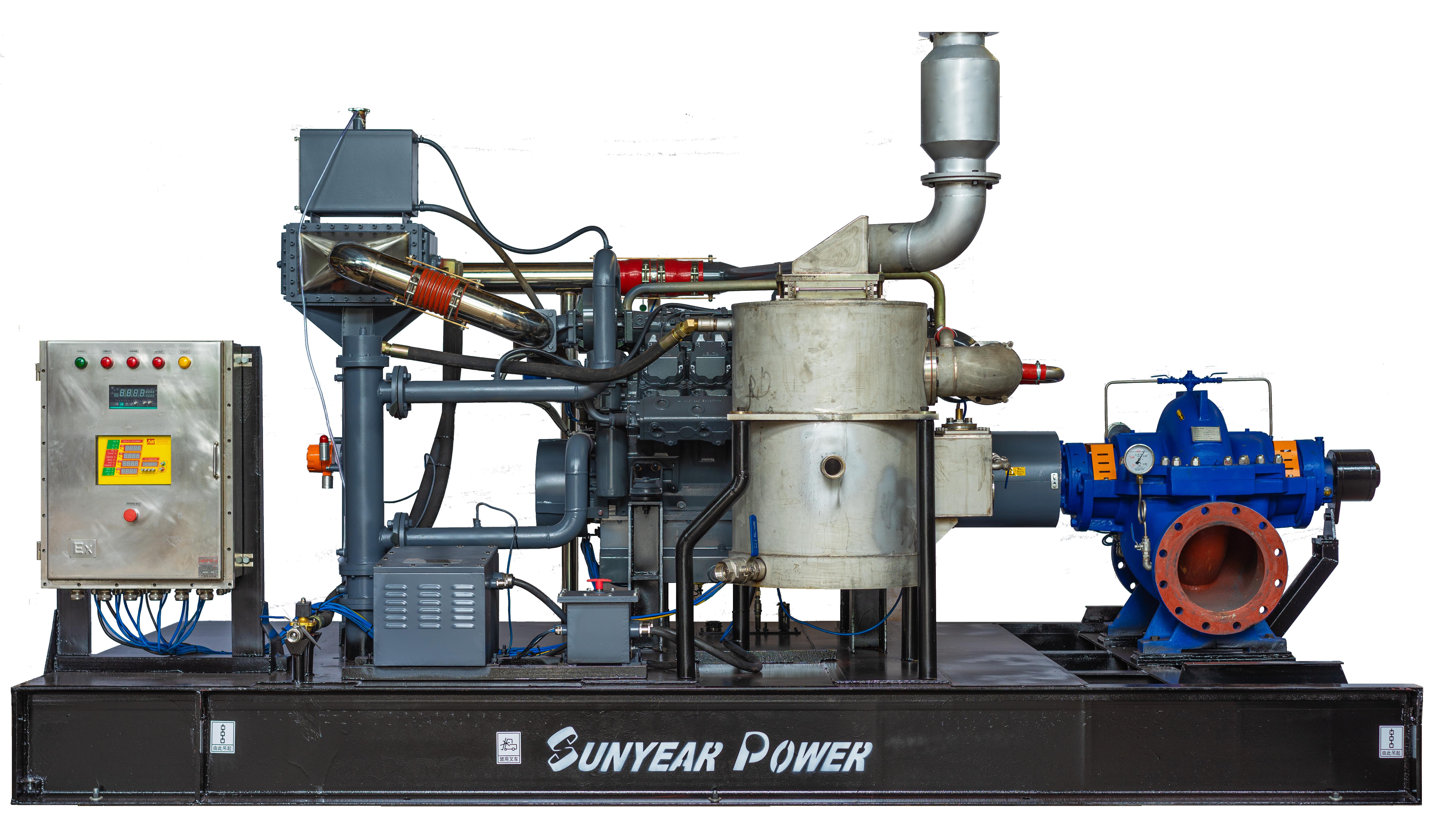 防爆柴油机泵组选型方案