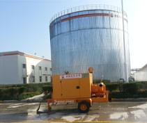 防爆型应急救援专用泵车在中石油庆阳石化公司的应用