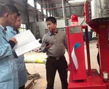 2月25日四套消防泵组的第三方消防检验认证