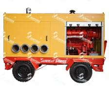 三业消防海水提升泵下线