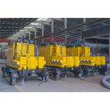 3台大流量移动泵车在四川某市水务集团的应用
