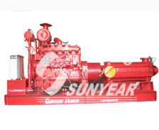 细水雾柴油消防泵