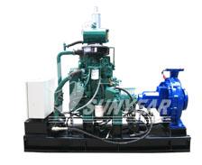 工业应急智能柴油机水泵