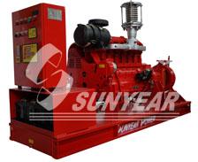 风冷柴油消防泵