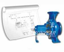 单级单吸离心泵选型