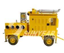大流量移动式抽水泵车