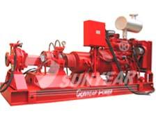 混合动力发电-消防泵