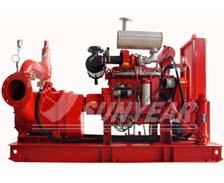 柴油机消防转子泵组