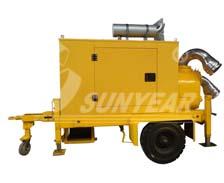 移动自吸排污泵车