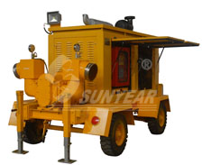 发电排水双功能泵车
