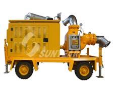 自吸排污抽水泵车