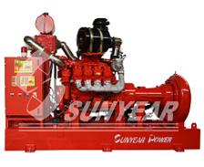 供货中海油数字定压柴油机消防泵