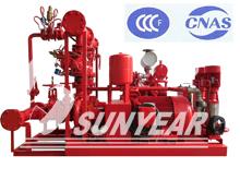 消防泵CCCF认证-消防双动力给水设备