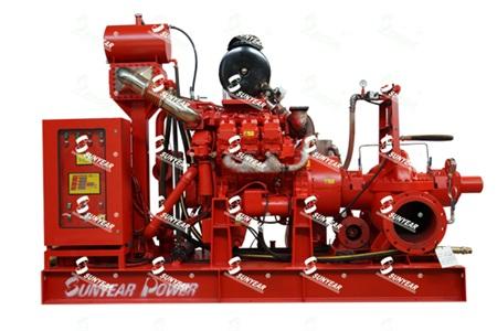 自吸自保柴油机消防泵