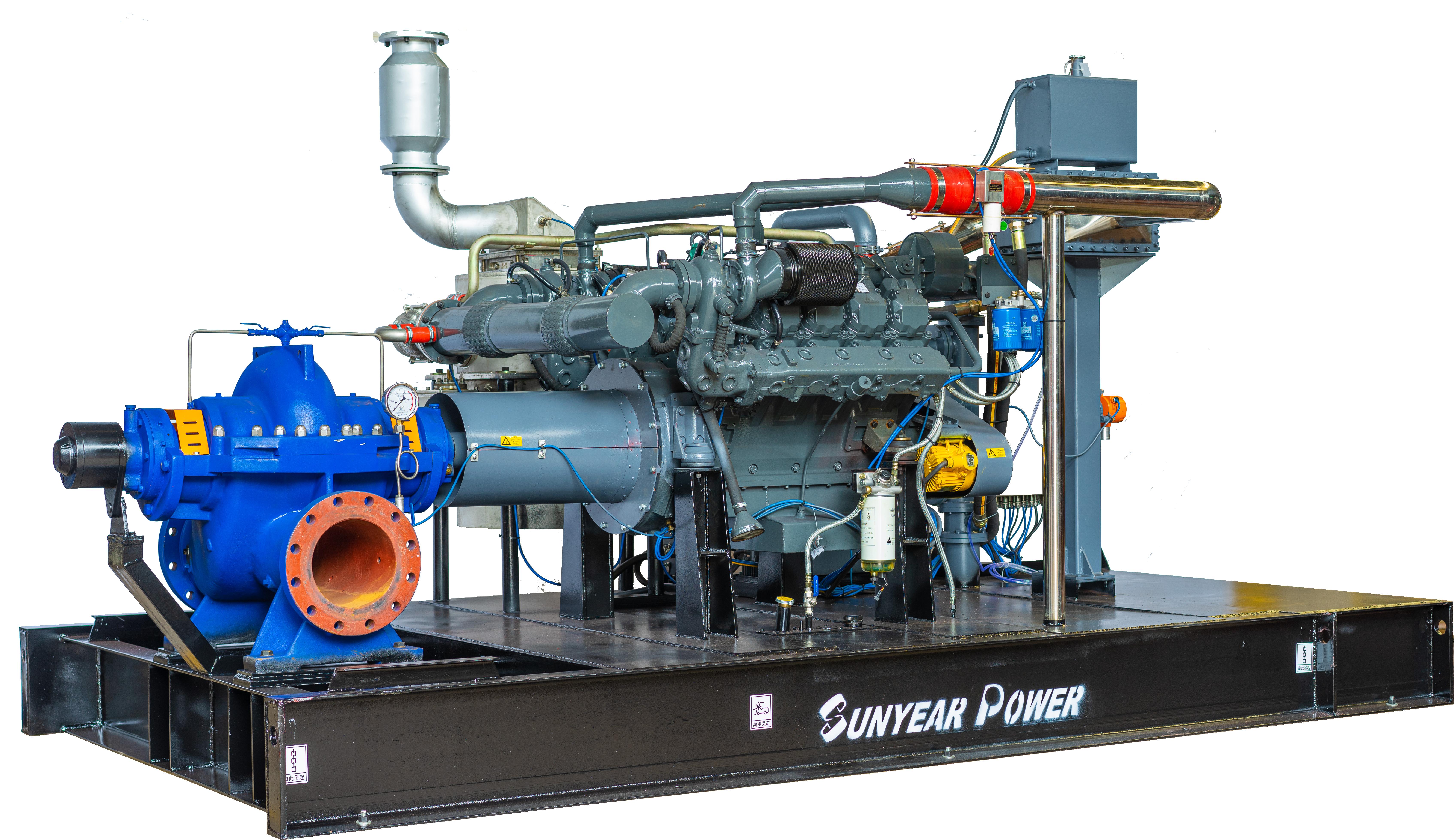 柴油机泵组--(防爆机组)